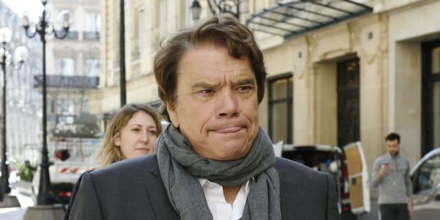 Bernard Tapie à Paris en 2015.
