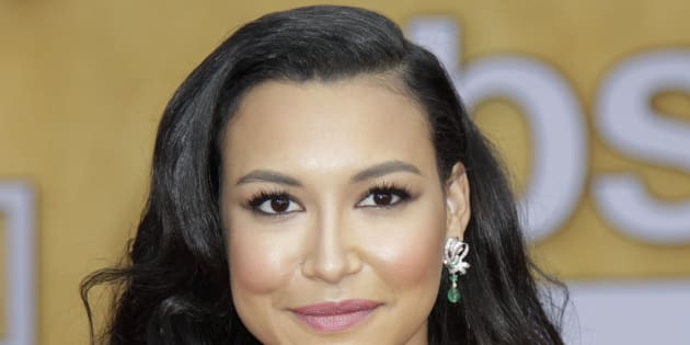 Naya Rivera arrives on the red carpet at the 19th annual Screen Actors Guild Awards on January 27, 2013, in Los Angeles, California. Francis Specker /Landov
