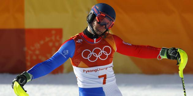 Jeux olympiques d'hiver 2018: Alexis Pinturault et Victor Muffat-Jeandet, décrochent l'argent et le bronze du combiné.