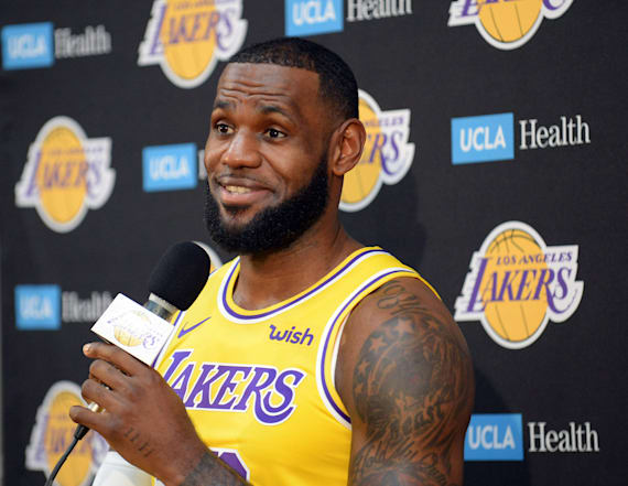 LeBron James won't engage with Trump before election