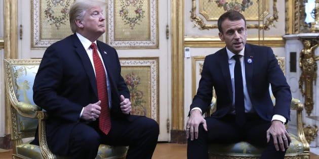 Desde criticar la baja popularidad de Macron hasta alegar que Francia pone trabas comerciales, así fue la cadena de tuits por parte de Trump que hicieron enojar al país galo.