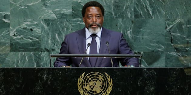 Joseph Kabila Kabange, President of the Democratic Republic of the Congo, addresses the 72nd United Nations General Assembly at U.N. headquarters in New York, U.S., September 23, 2017.