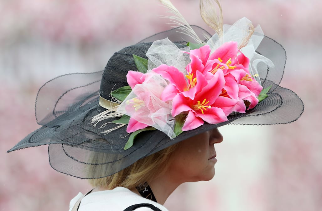 f0e0c92f40469 The craziest hats of the Kentucky Derby - AOL Lifestyle