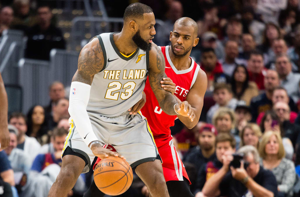 d92be365cf33 Report  Rockets  Paul recruiting LeBron to Houston - AOL News