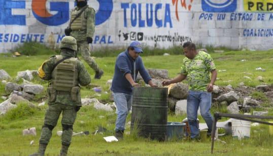 Cárteles y hasta empleados de Pemex participan en el robo de