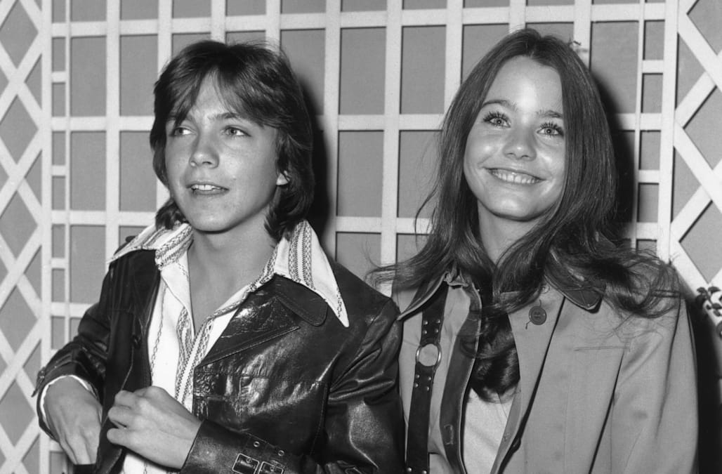 """If you're still harboring a crush on the late David Cassidy, don't be ashamed -- it's truly hard to believe that it's been more than 40 years since """"The ..."""