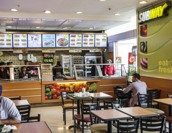 Subway franchisees are revolting against a menu item