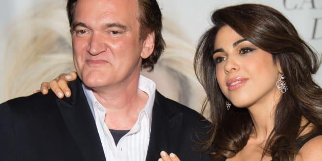Quentin Tarantino et Daniella Pick au Festival Lumière à Lyon, en 2016.
