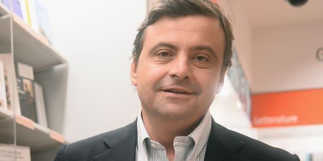 """Carlo Calenda: """"Il mio manifesto non è un"""