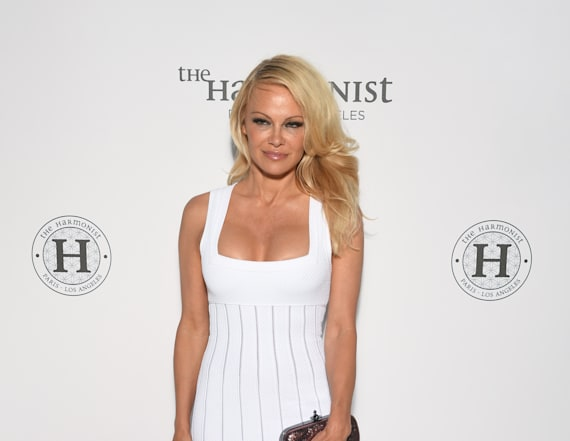 Pamela Anderson rocks revealing style at Cannes