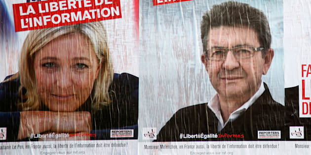 Comment le Front national et la France insoumise a gagné la bataille de l'opinion face au PS et LR.