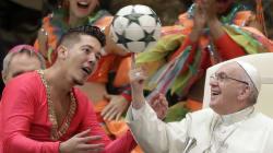 Cette photo du Pape François vaut le