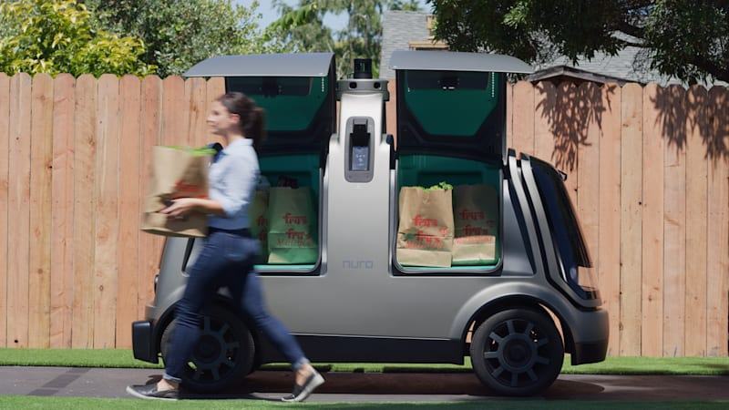 Kroger begins tests of driverless grocery delivery in Arizona