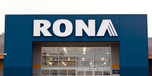 Les bannières Rona et Réno-Dépôt appartiennent à Lowe's.