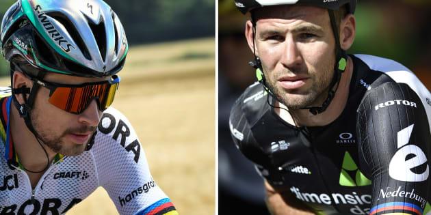 Tour de France: Le message fair-play de Peter Sagan à Mark Cavendish après son éviction