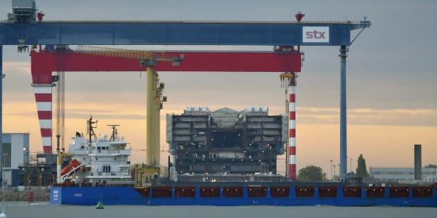 Le chantier naval de Saint-Nazaire repris par le groupe public italien Fincantieri