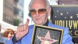 Charles Aznavour a son étoile à