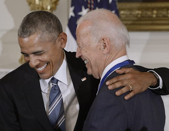 Biden shares his favorite memes of him and Obama