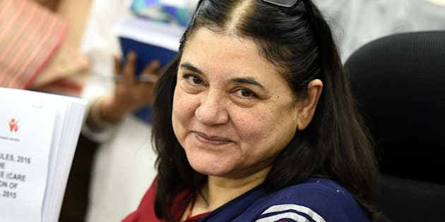 File photo of Women and Child Development minister Maneka Gandhi.