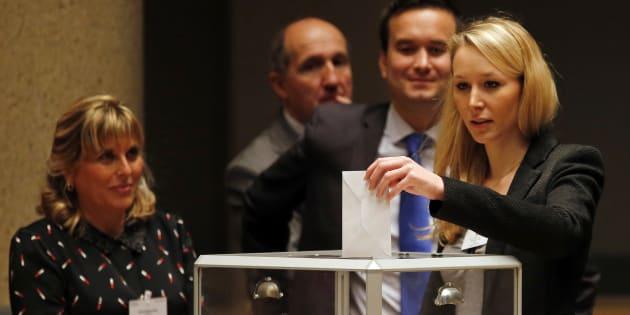 A la veille de la primaire, Marion Maréchal Le Pen adresse un clin d'oeil à Jean-Frédéric Poisson.