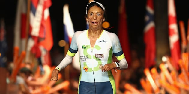 Turia Pitt is also an inspirational speaker and author.
