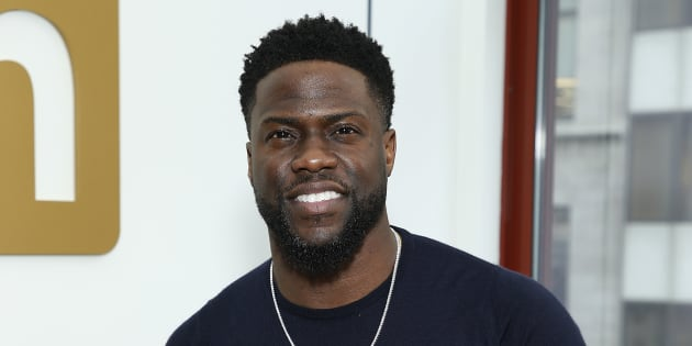 NEW YORK, NEW YORK - JANUARY 10: Kevin Hart visits LinkedIn at LinkedIn Studios on January 10, 2019 in New York City. (Photo by John Lamparski/Getty Images)