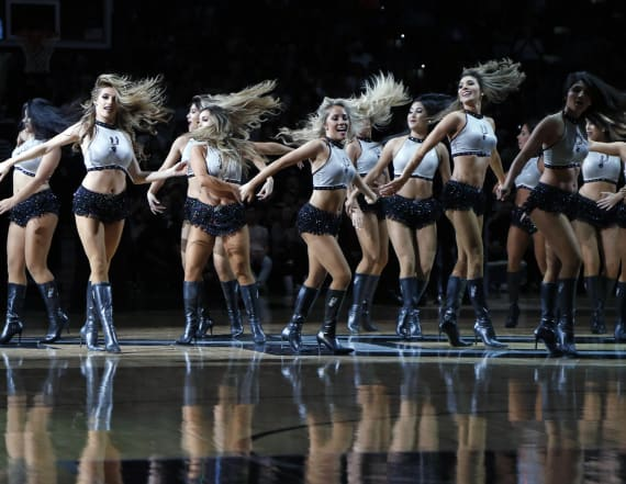 Spurs replace dance team with coed 'hype' squad