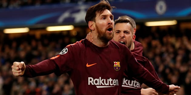 Ligue des Champions: Messi rompt la malédiction face à Chelsea et arrache un nul chanceux pour Barcelone.