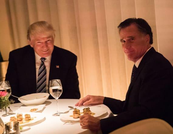 Trump endorses Mitt Romney for Utah Senate seat