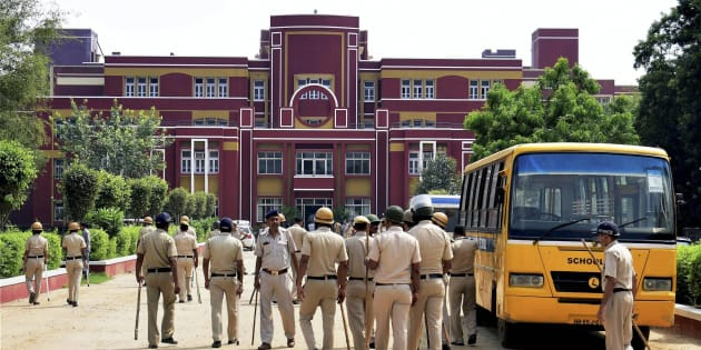 Boy found murdered in Gurugram school, seven detained (Second Lead)