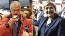 Le Pen et Wauquiez, deux styles pour un même message au Salon de