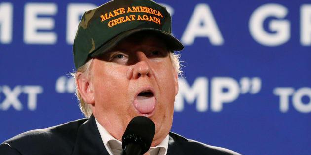 Donald Trump en campagne en Floride, le 2 novembre 2016. REUTERS/Carlo Allegri
