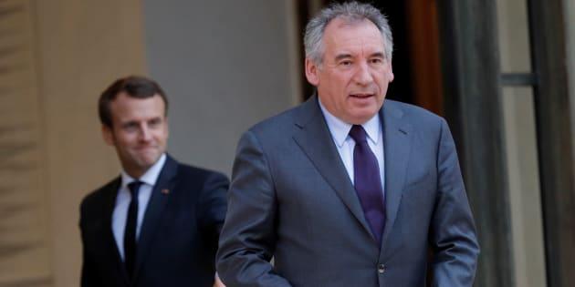 """François Bayrou exhorte Emmanuel Macron à être """"un président juste""""."""