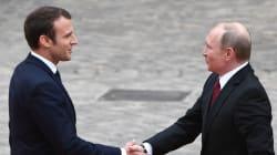 Les images de la visite de Vladimir Poutine en