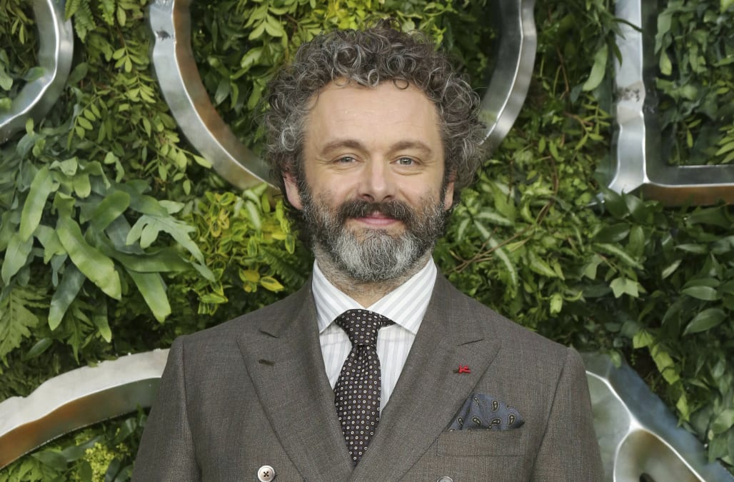 Michael Sheen, 50, confirms 25-year-old girlfriend is pregnant - AOL