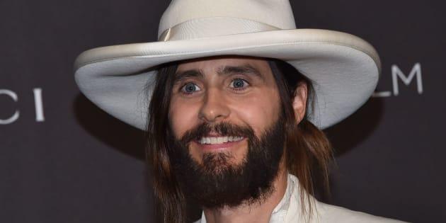 Jared Leto a dû sacrifier son épaisse barbe pour mieux coller au personnage du vampire Morbius.