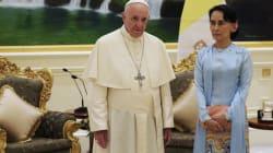 El papa evitar decir 'rohingya' en discurso en Myanmar, pero pide respeto