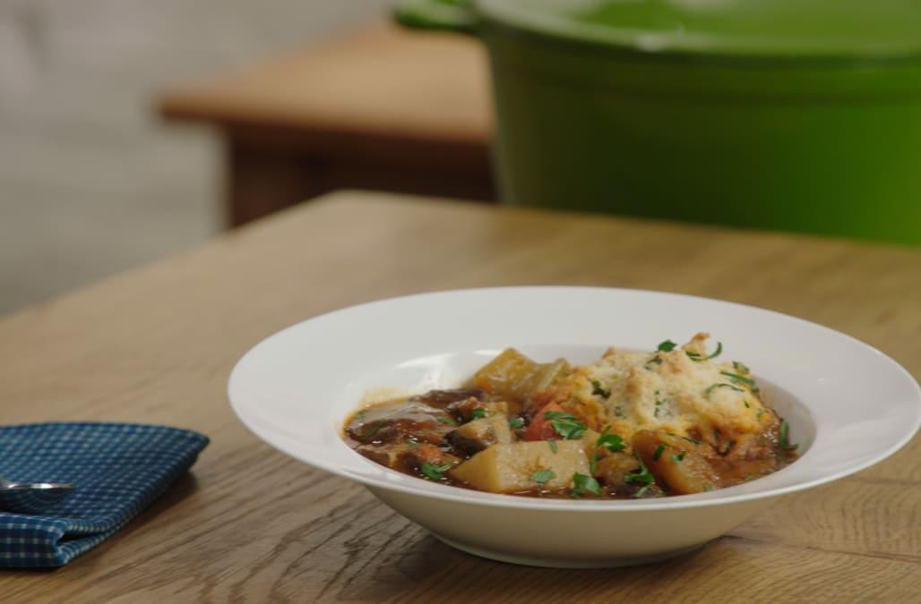 Best Bites: Guinness stew with cheddar dumplings