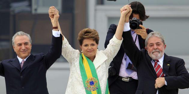 Temer, o vice de Dilma, foi escolha do PT de Lula