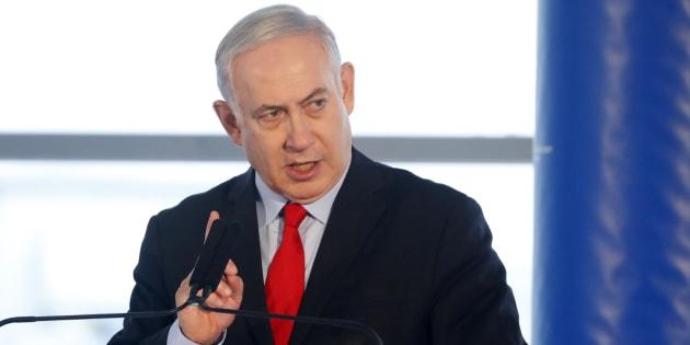 """Netanyahu juge """"scandaleux"""" des propos du Premier ministre polonais sur les """"auteurs juifs"""" de la Shoah."""