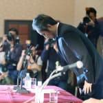 安田純平さん、記者会見で謝罪「日本政府が当事者にされてしまい、申し訳ない」