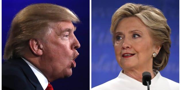 Debate na campanha presidencial dos Estados Unidos entre Donald Trump e Hillary Clinton