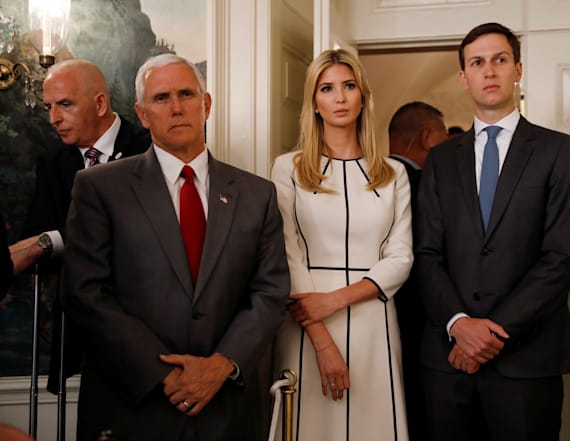 Pence, Ivanka bring law-and-order tour to one city