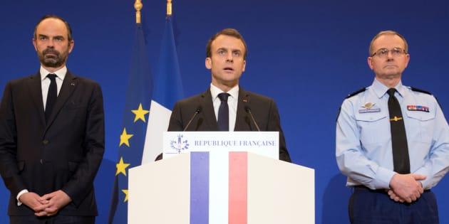 Les 5 étapes de la communication de crise de Macron après l'attentat de Trèbes.