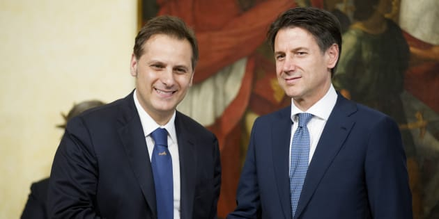 Roma 13/06/2018, giuramento dei nuovi vice ministri e sottosegretari. Nella foto Armando Siri