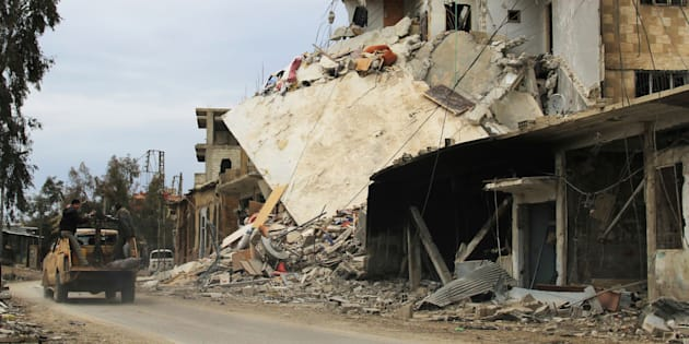 Rebel fighters and officials believe that Syrian government forces are preparing an assault on the town of Daraya, which has been besieged and regularly bombed since 2012.