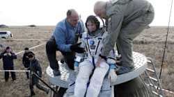 Space Crew On Russian Soyuz Capsule Back On Earth After Four