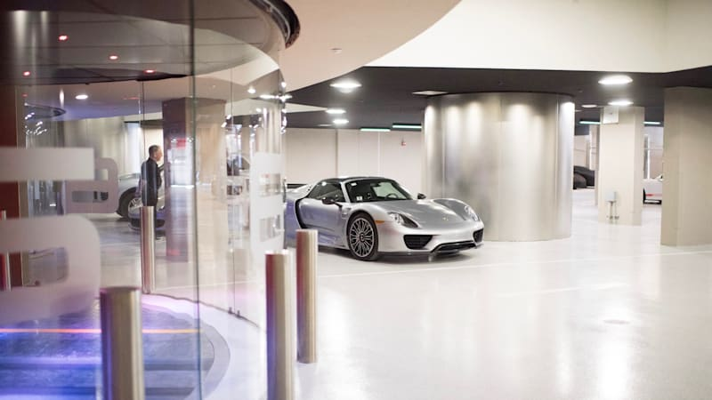 Auto Repair For Sale Miami: In Miami's Porsche Tower, Your Car Rides An Elevator To