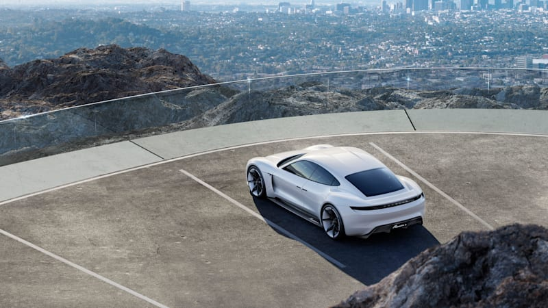 Porsche Taycan will slot below Panamera to compete with Tesla Model S - Autoblog