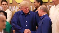 Stretta di mano e breve colloquio. Trump manda all'aria il bilaterale con